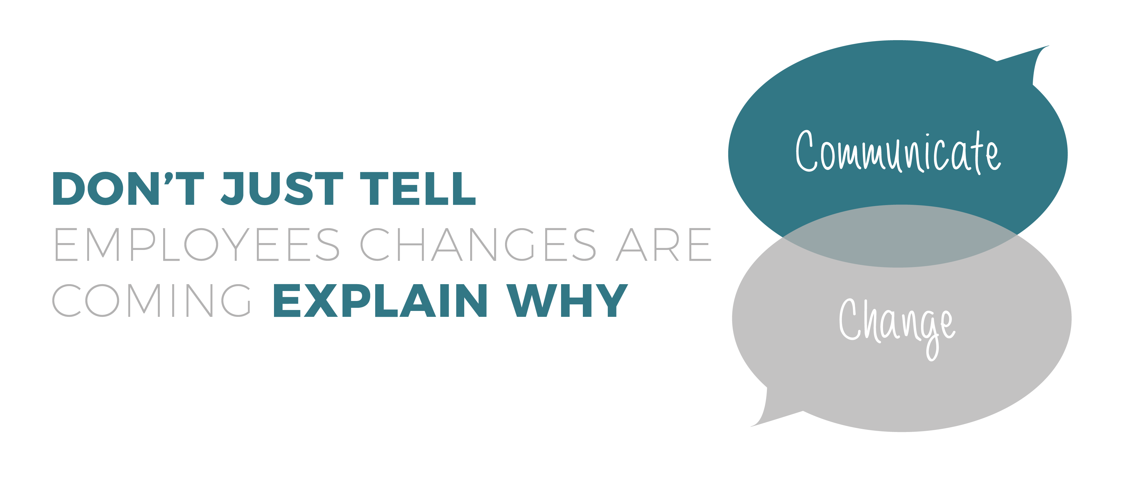 Don't Just Tell Employees Changes Are Coming - Explain Why