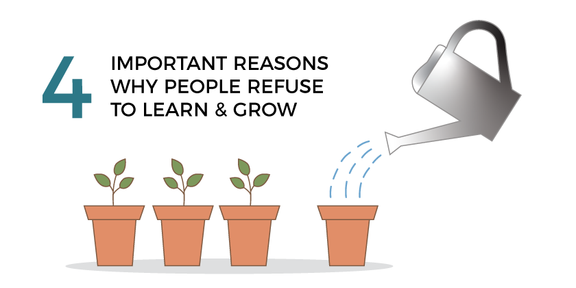 Important Reasons Why People Refuse to Learn And Grow